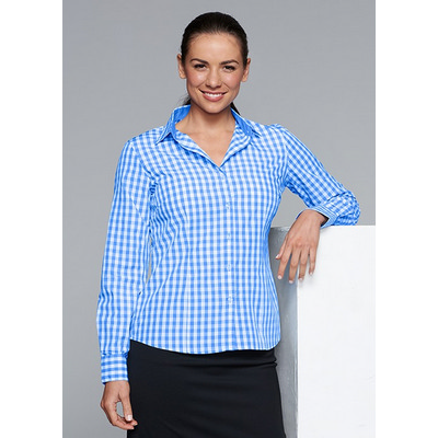 Picture of Ladies Devonport Long Sleeve Shirt