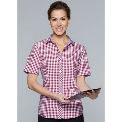 Picture of Ladies Brighton Short Sleeve Shirt