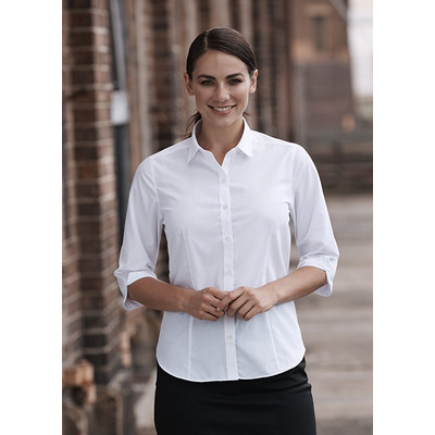 Picture of Ladies Kingswood 3/4 Sleeve Shirt