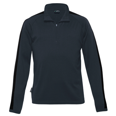 Picture of Merino Contrast Insert Pullover - Mens