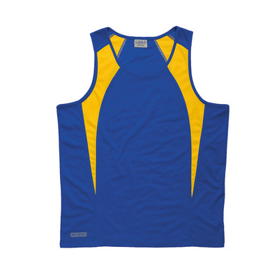 Picture of Dri Gear Spliced Zenith Singlet - Youth