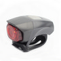 Visto Cube Bicycle Light (red LED)