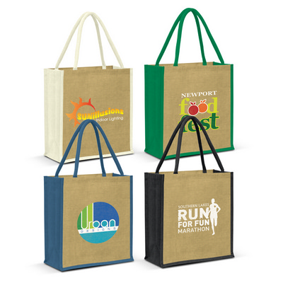 Picture of Lanza Jute Tote Bag