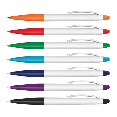 Picture of Spark Stylus Pen - White Barrel