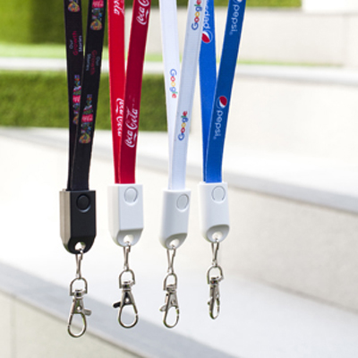 Picture of Cordy 2n1 Lanyard Charge Cable