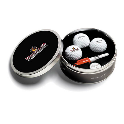 Picture of Titleist 3 Ball ProV1 Tin