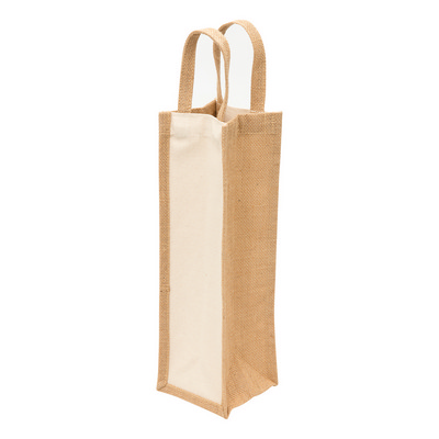 Picture of Legend Eco Jute 1 Bottle Wine Bag