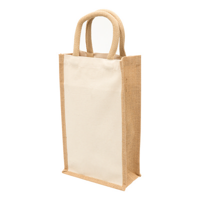 Picture of Legend Eco Jute 2 Bottle Wine Bag