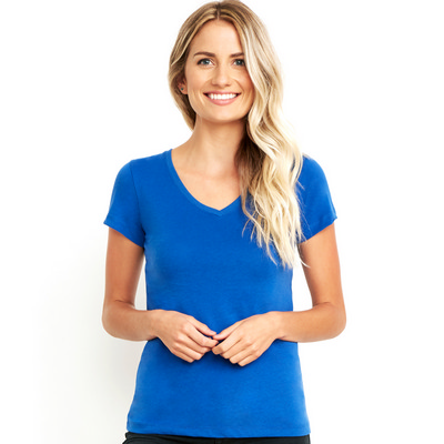 Picture of Next Level Apparel Womens Sueded V
