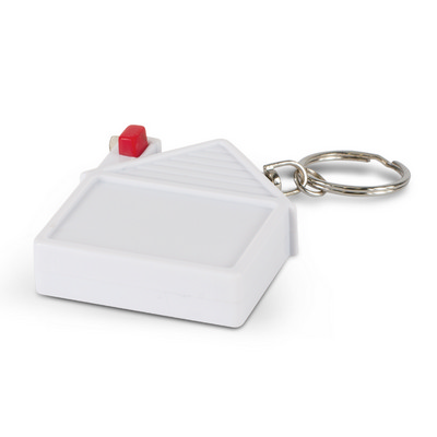 Picture of House Tape Measure Key Ring