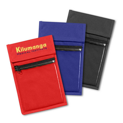 Picture of Non Woven Wallet Badge and ID Holder