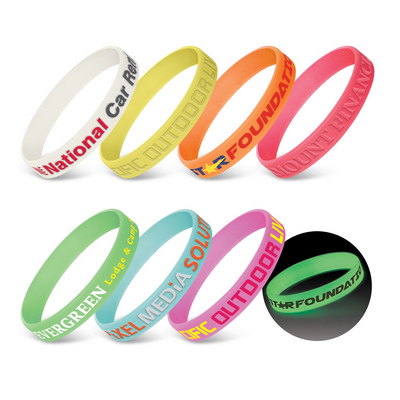 Picture of Silicone Wrist Band - Glow in the Dark