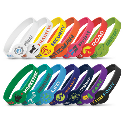 Picture of Xtra Silicone Wrist Band - Debossed