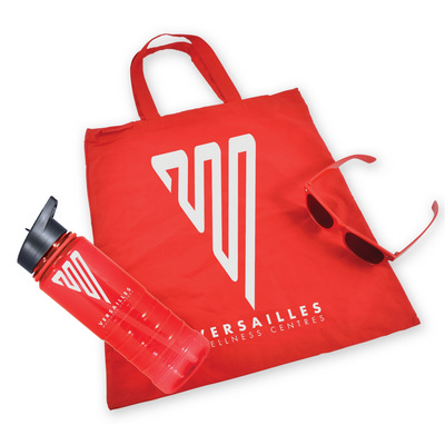 Picture of Bag, Drink Bottle and Sunglasses Kit