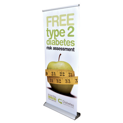 Picture of The Deluxe 850mm Roll Up Banner