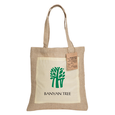 Picture of Reforest Jute Tote Bag