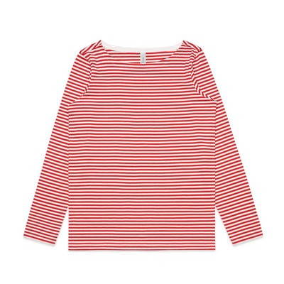 Picture of Womens Bowery Stripe LS Tee