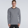 Match Stripe Long Sleeve Tee
