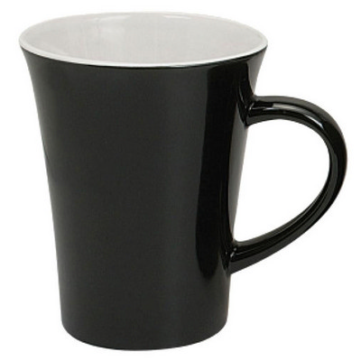 Picture of Montreal Mug Gloss Black  White