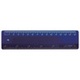 Ruler 15cm Navy Blue