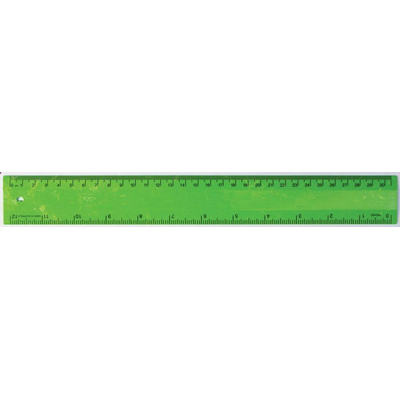 Picture of Ruler 30cm Recycled Green