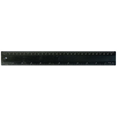 Picture of Ruler 30cm Recycled Black
