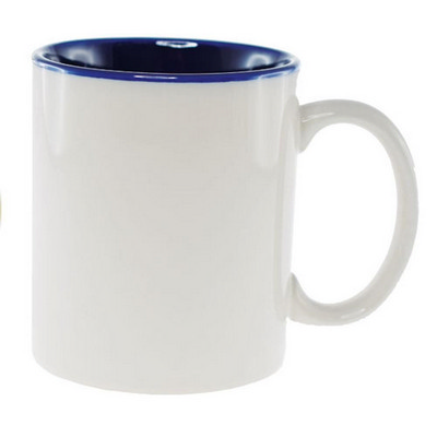 Picture of Sublimation Classic Can Mug WhiteCobalt