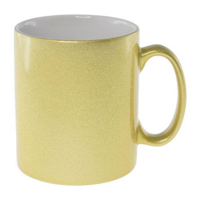 Picture of Sublimation Classic Can Mug GoldWhite