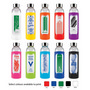Capri Glass Silicone Sleeve Bottle