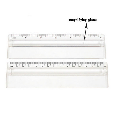 Picture of Ds063 15Cm Ruler Magnifying