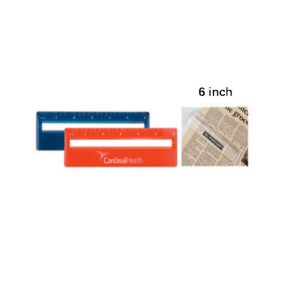Picture of Ds063Tl 15Cm Ruler With Color  And Magni