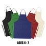 Ap002 Junior Cotton Apron (Age: 4-7)