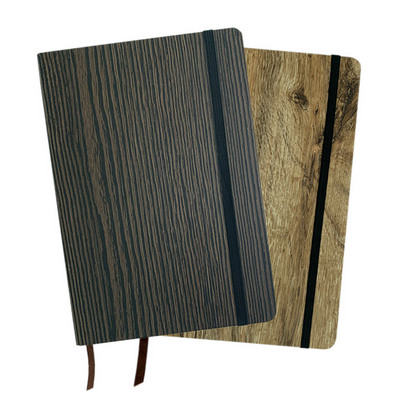 Picture of Nb015 A5 Wood Look Note Book