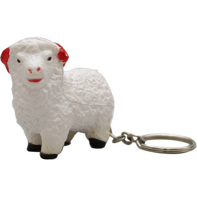 Picture of Skr004  Stress Sheep Key Ring