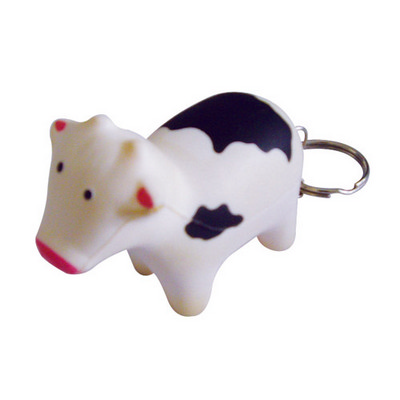 Picture of Skr012  Stress Cow Keyring