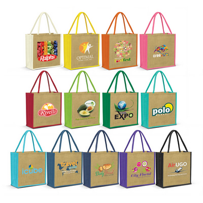 Picture of Monza Jute Tote Bag
