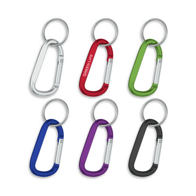 Picture of 8mm Carabiner With Split Ring