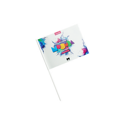 Picture of Custom Flag Thick Laminated Paper