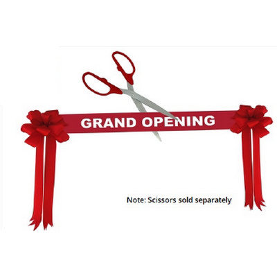 Picture of Grand Opening Ribbon Kit - Red