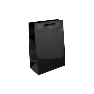 Picture of Baby Black Gloss Laminated Paper Bag Pri