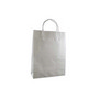 Small Standard White Kraft Paper Bag