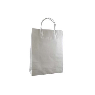 Picture of Small Standard White Kraft Paper Bag Pri