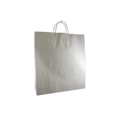 Picture of Large Standard White Kraft Paper Bag Pri