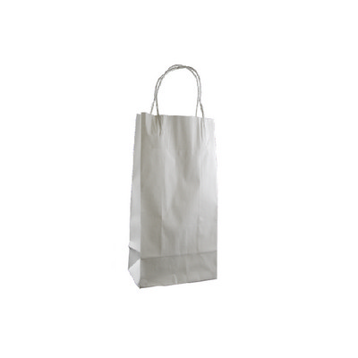 Picture of Junior Standard White Kraft Paper Bag