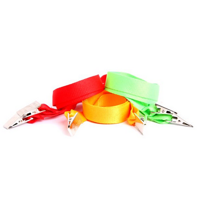 Picture of Gemini 20mm Plain Lanyard with Double Al