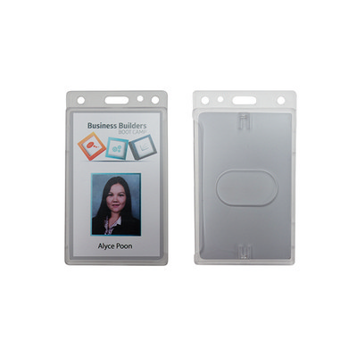 Picture of Rigid Frosted Security ID card holder -P