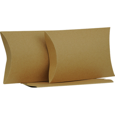 Picture of Large Brown Kraft Pillow Box
