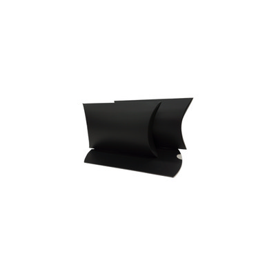 Picture of Small Matt Black Pillow Box Printed