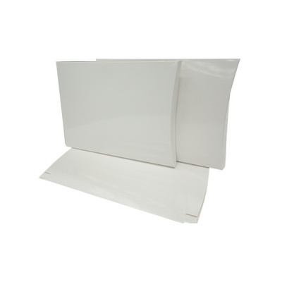 Picture of X Large White Gloss Pillow Box with Guss