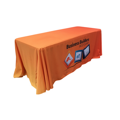 Picture of Sublimated Custom Print Table Cloth Loos